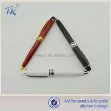 Portable Short Pen Twist Small Metal Ball Pen Mini Ball Pen