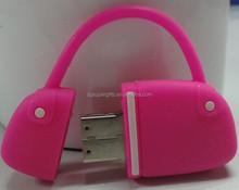 2015 Dongguan made personality USB flash drives Silicon USB flash drives bag shaped USB flash drives