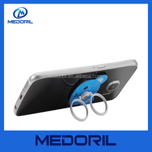 Factory custom shaped metal mobile phone ring holder with factory price