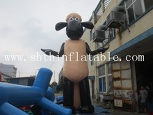 vivid inflatable shaun the sheep/ inflatable characters/ inflatable cartoon for sale