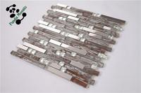 SMJ02 hot sell Beautiful low price mosaic lowes glass tile kitchen backsplash