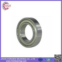 china supplier free sample Low noise and vibration 6015 ZZ RS Deep Groove Ball Bearing