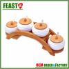 Popular design ceramic canisters HIGH QUALITY porcelain jars 4 pcs top grade ceramic jar