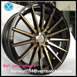 Wholesale price straight spokes wheel rims 15 16 17 18 19 inch