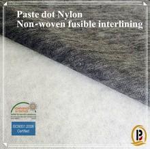 Micro Paste-dot Nylon+polyester Non-woven fusible interlining for garment (#9518)