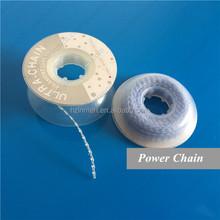 Dental orthodontic chain elastic