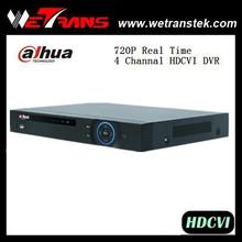Wetrans 720 P en tiempo real H.264 4CH HDCVI dvr
