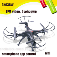 new rc quadcopter 6 axis gyro 4ch 2.4g radio controlled cx036