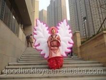 Desfile event gran traje de alas de ángel