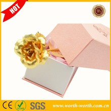 Good price for 24k Dipped Gold Rose Foil Flowers, Gold Plated rose 6 Inches Ornament in Gift Box