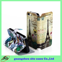 For iphone 5 custom smart cover printing 3D sublimation cell phone case