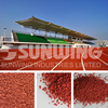 colorful athletic epdm rubber granules for running track