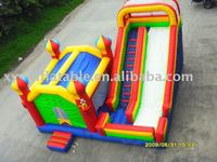 Inflatable slide castle,inflatable bouncer slide,inflatable bouncer/slide combo