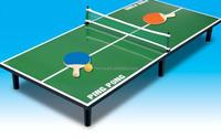 New creative mini folding ping-pong table/portable ping- pong table