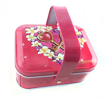 Popular candy tin box for gift with metal use