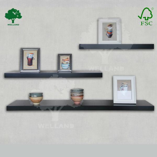 Decoracion con repisas flotantes otros muebles de madera for Ganchos para repisas