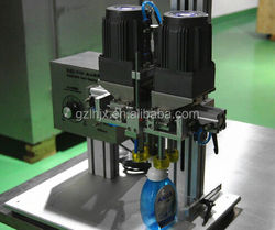 cap screwing machine, aluminum screw caps machine, manual screw capping machines