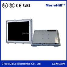 Surface Acoustic Wave/ Infrared/ Capacitive Touch Screen 15/17/19 Inch Open Frame LCD Monitor For Kiosk