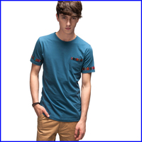 men's half sleeve t shirt fashion blank t shirt china wholesale sexy t-shirts for men