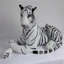 2015 promotion cadeau géant en peluche jouet tigre blanc pour enfants
