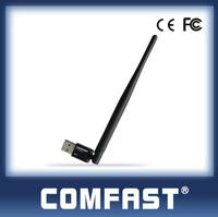 150Mbps Wireless Adapter RTL8188EUS Wireless Usb Hub with 5dBi antenna Free Sample COMFAST CF-WU755P Cheap Wireless Internet