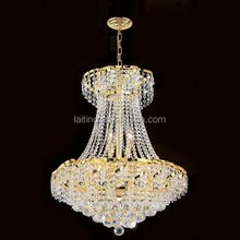 Luxury gold italian crystal chandelier for event party decoration