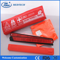 OP wholesale ISO FDA CE approved din13164 manufacture price auto car waterproof first aid bag