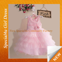 2015 Latest new formal baby girl party dress children frocks designs party dresses for girls of 7 year old LYD-309