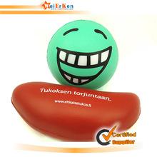 Customize kidney shape brain stress ball