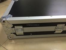TIP FRM2ULT 10U / 2U Slant Case with Sliding Laptop Tray mixer dj effects