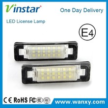 New Car accessories car tail light license plate lamp led for W210 4D