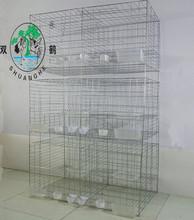 6 paloma puerta de cría jaula jaula / racing pigeon cage-1x0.55x1.5m en tamaño