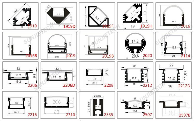 Aluminum Extrusion Aluminum Extrusion Catalog