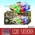 Colorido B / O tanque brinquedo musical andando elétrico carros de brinquedo para crianças
