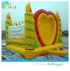 HAPPY BIRTHDAY inflatable jumping castle//jumper for kids