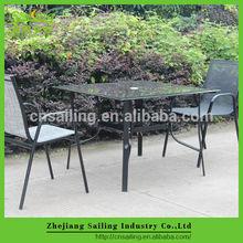 Todo tipo de clima honda Patio exterior muebles para el jardín