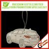 Promotion Customized Hanging Paper Car Air Freshener