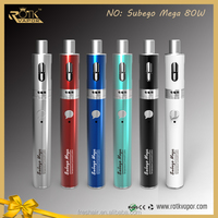 2015 New carbon spinner III VV wood mod dabber glass-globe pen Subego tc 80w vs New coming 50w TC box mod support 0.1ohm