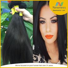 Produits de cheveux naturels cheveux dominicaine produits moitié up moitié vers le bas cheveux raides
