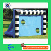 inflatable soccer field door/ inflatable football goal for export