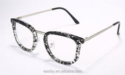 New models retro cat eye frame eyewear glasses frame fashionable vintage decorative optical reading glasses frame