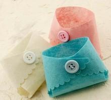 Mini Baby Felt Diaper Baby Shower Favours Christening Gift