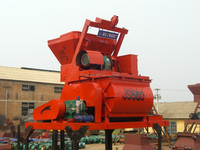 45years manufacturer certificated modifiable design mobile 380V JS750 shaft force mixer