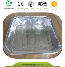 Heat Resistant Aluminum Foil Car Food Tray