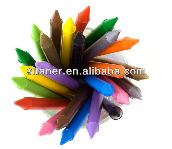 Multiple color crayons for kids