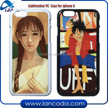 2015 cheap sublimation cell phone case for iPhone6/iphone 6 2d sublimation phone cover