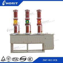 ZW7 high voltage 33kv outdoor vacuum circuit breaker with current transformer