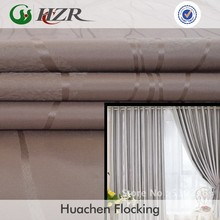 3 M treatment 100 polyster slubbed jacquard fabric for home decoration door curtain