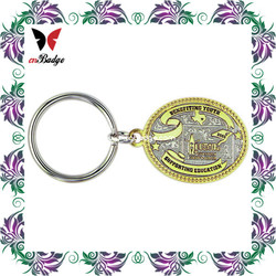 promotional products high quality motorcycle shape soft pvc key chain