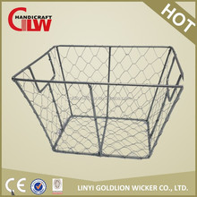 wire basket cheap wire fruit basket wholesale in grayish color for home hotel restaurant use with seagrass wrapped rim